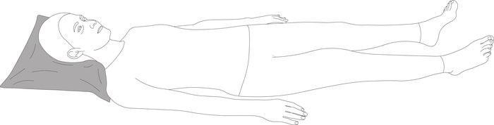 Противопролежневая подушка под голову